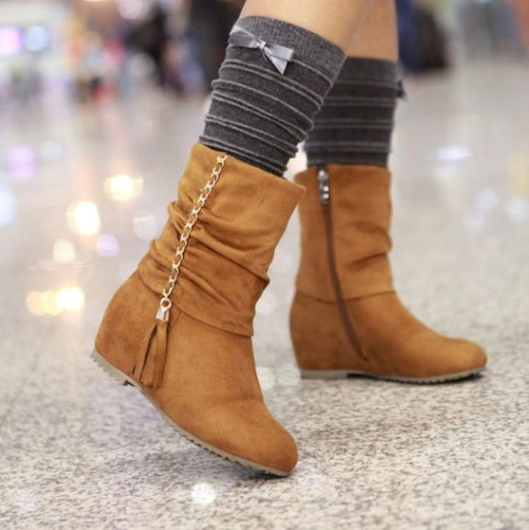 Boots-Winter-Collection-2013-2014-For-Women-9 Top 10 Hottest Women's Boot Trends for 2019