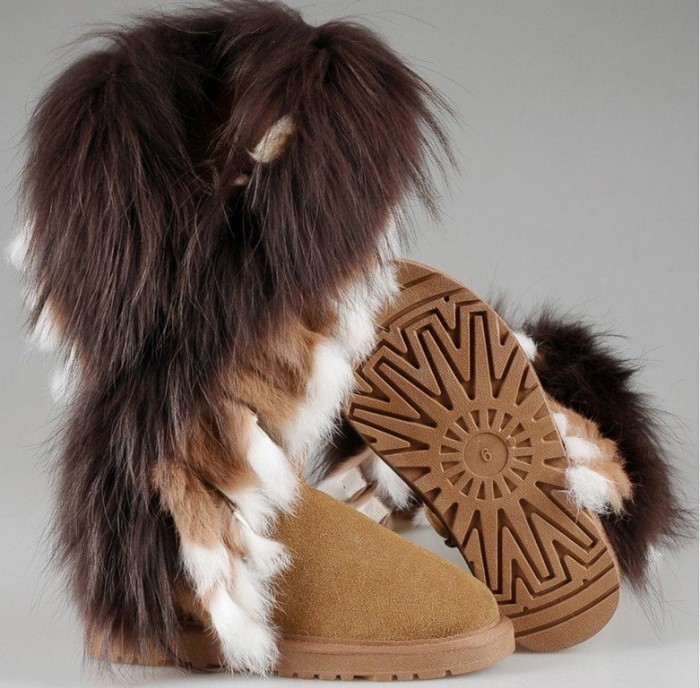 Boots-With-Fur-elegant Top 10 Hottest Women's Boot Trends for 2019