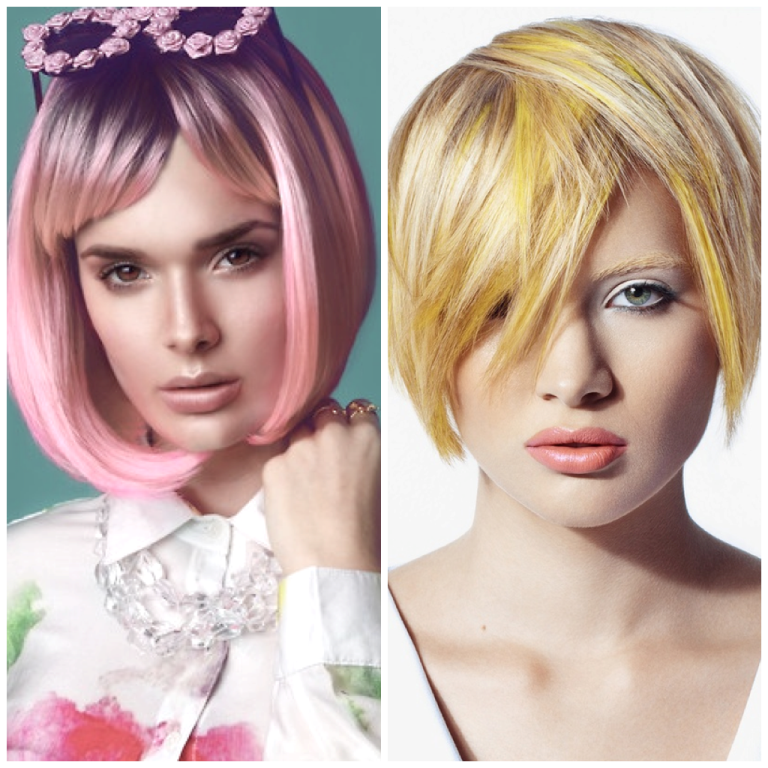 Bright-hues1 20 Best Creative Ideas for Hair Salons in 2019