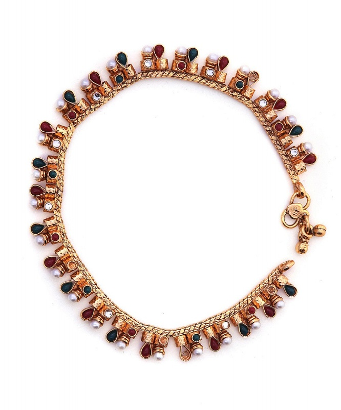 CV-MROYA27686262250-Jewellery-Royalty-Craftsvilla_2 Top 89 Anklets Jewelry Pieces Around The World in 2017