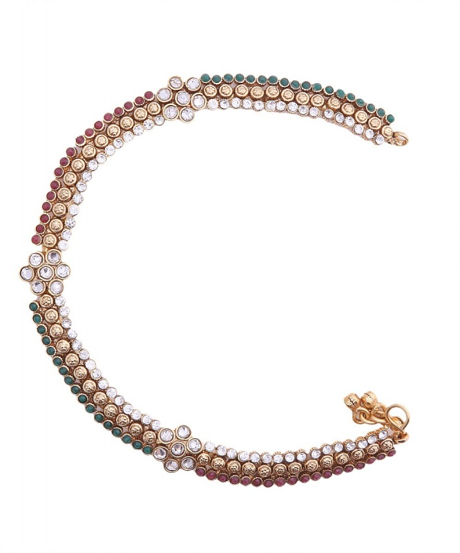 CV-MROYA44538098610-Jewellery-Royalty-Craftsvilla_3 Top 89 Anklets Jewelry Pieces Around The World in 2017
