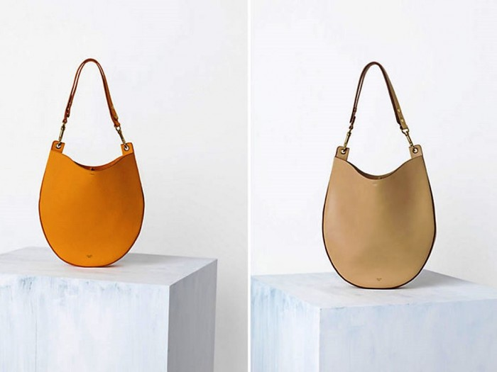 Celine-Mustard-Saffron-Hobo-and-Beige-Bag-Spring-2014 20+ Latest Bag Trends Expected to Come Back in 2019