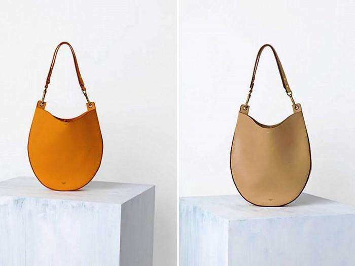 Celine-Mustard-Saffron-Hobo-and-Beige-Bag-Spring-2014 20+ Latest Bag Trends Expected to Come Back in 2019