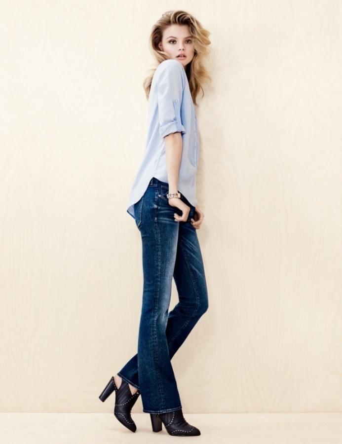 Denim-on-Denim-in-HM-Trend-Update-2013-2014-6 Latest & Hottest Fashion Trends for Spring 2020