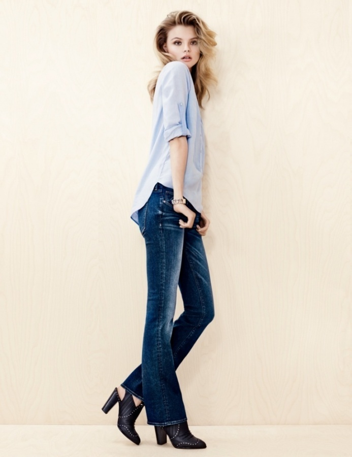 Denim-on-Denim-in-HM-Trend-Update-2013-2014-6 Latest & Hottest Fashion Trends for Spring 2019