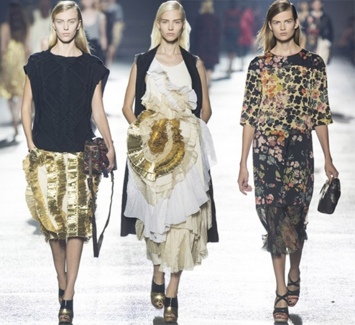 Dries_Van_Noten_spring_summer_2014_collection_Paris_Fashion_Week1 Latest & Hottest Fashion Trends for Spring 2019