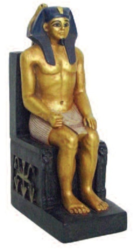 E-326GP-2 39 Most Famous Pharaohs Gold Statues