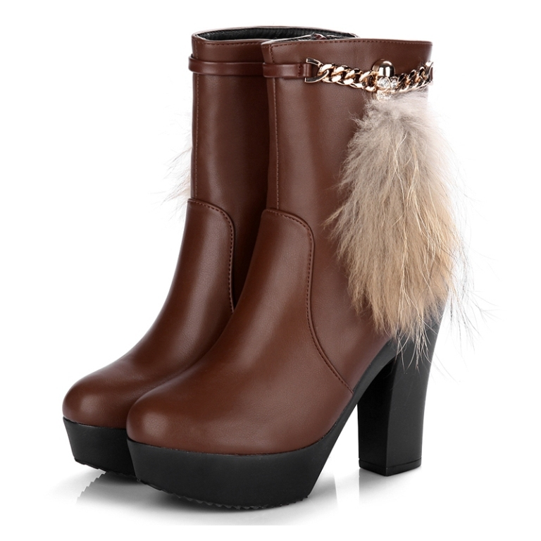 Free-shipping-2014-New-australia-genuine-leather-women-font-b-boots-b-font-wellies-moon-font Top 10 Hottest Women's Boot Trends