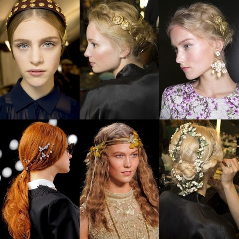 Hair-Accessories-Trend-2014 25+ Hottest Women's Hairstyle trends Coming Back in 2019