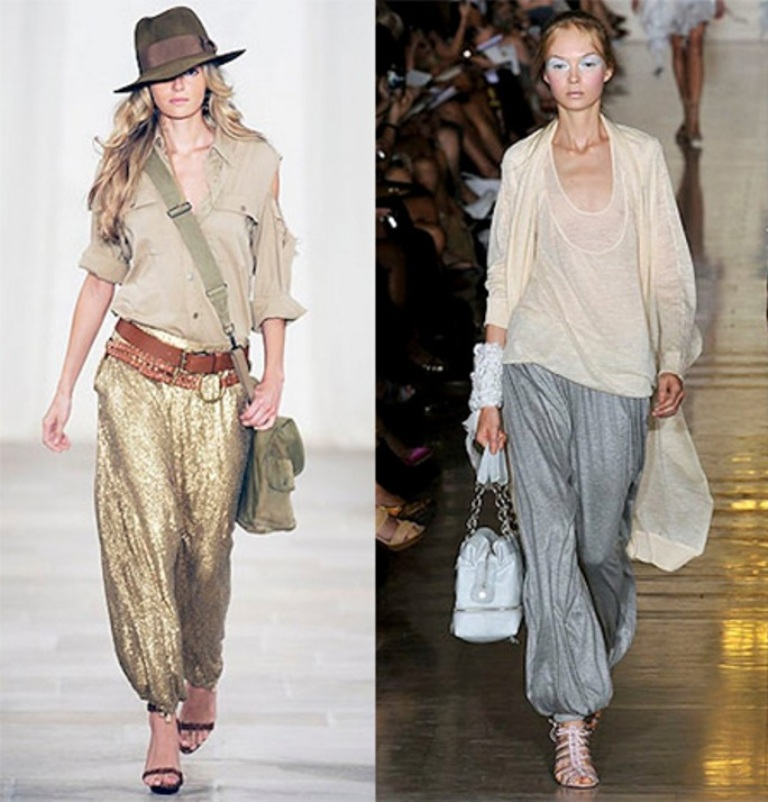 Harem-Pants-Made-Their-Way-to-Runways-in-20121 Top 10 Worst Fashion Trends & Fads To Avoid in 2019