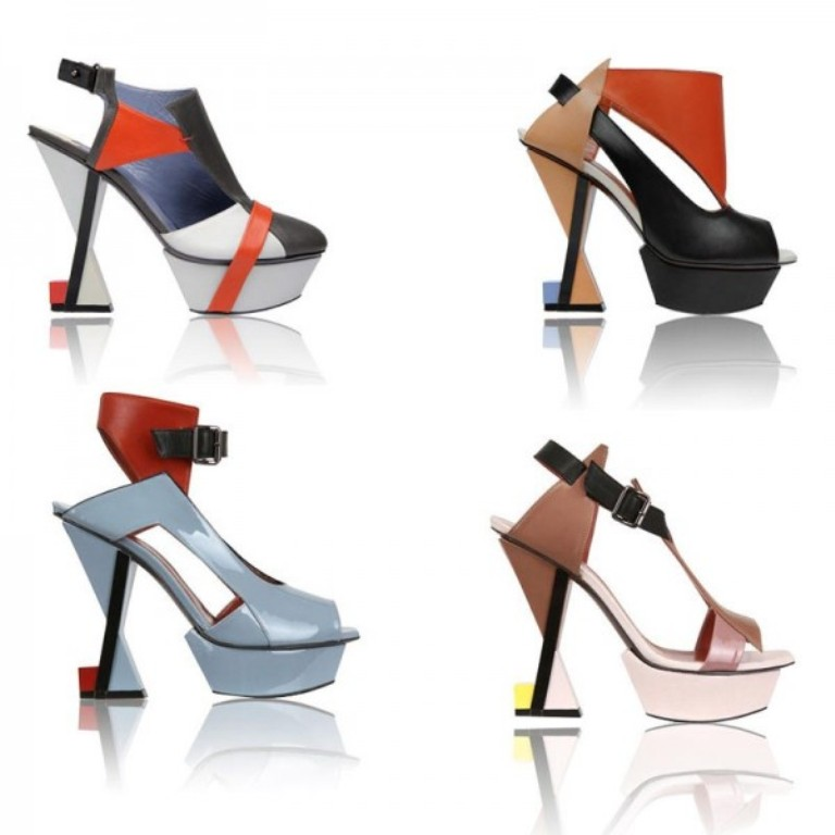 Heavy-Machine-Spring-Summer-Shoes-Wear-Collection-2013-2014-2 20+ Hottest Shoe Trends for Women in Next Spring & Summer
