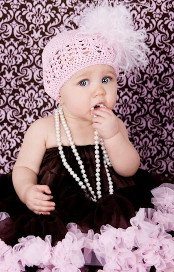 IMG_7336 20 Marvelous & Catchy Crochet Hats for Newborn babies