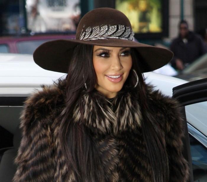 Kim+Kardashian+Casual+Hats+Wide+Brimmed+Hat+B-B58jyWyt-l Top 15 Hat Trend Forecast for Fall & Winter 2020