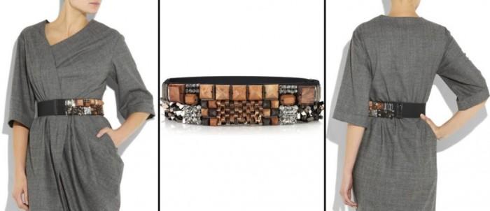 LANVIN-embellished-felt-belt 20+ Stylish Belt Trend Ideas for Fall & Winter 2020