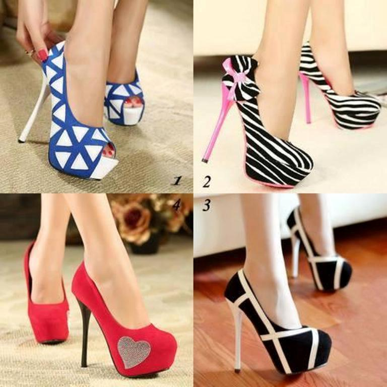 New-Latest-High-Heels-Shoe-Trends-2014-For-Girls Top 10 Best Fashion Trends Tips