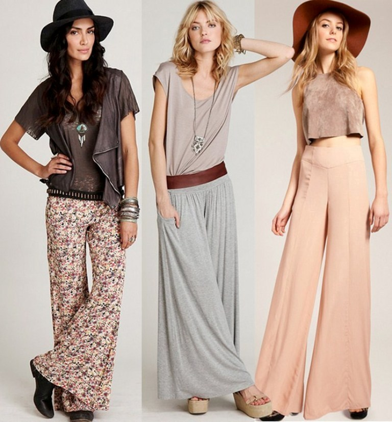 New-Palazzo-Pants-Fashion-Trend-2014-for-women Latest & Hottest Fashion Trends for Spring 2019