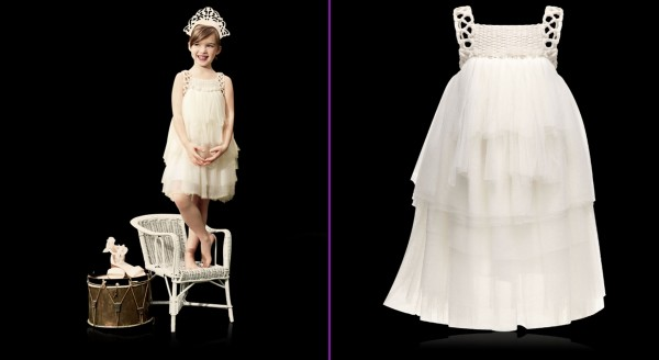 Nice-Collection-for-Girls-by-Baby-Dior-of-Off-White-Couture-Dress 49+ Stylish Baby Dior Cloth Trends in 2020