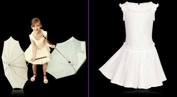 Off-white-Dress-by-Babi-Dior-as-Girls-Collection 49+ Stylish Baby Dior Cloth Trends in 2020