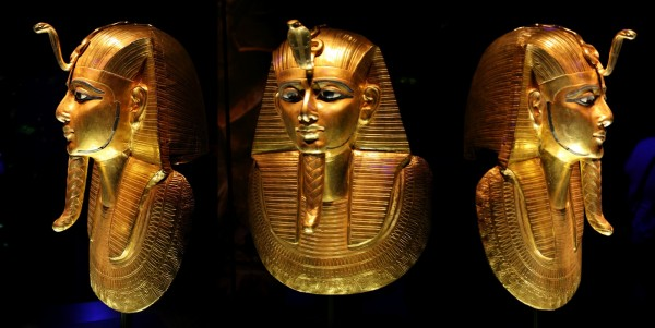 Psusennes-I-death-mask 39 Most Famous Pharaohs Gold Statues