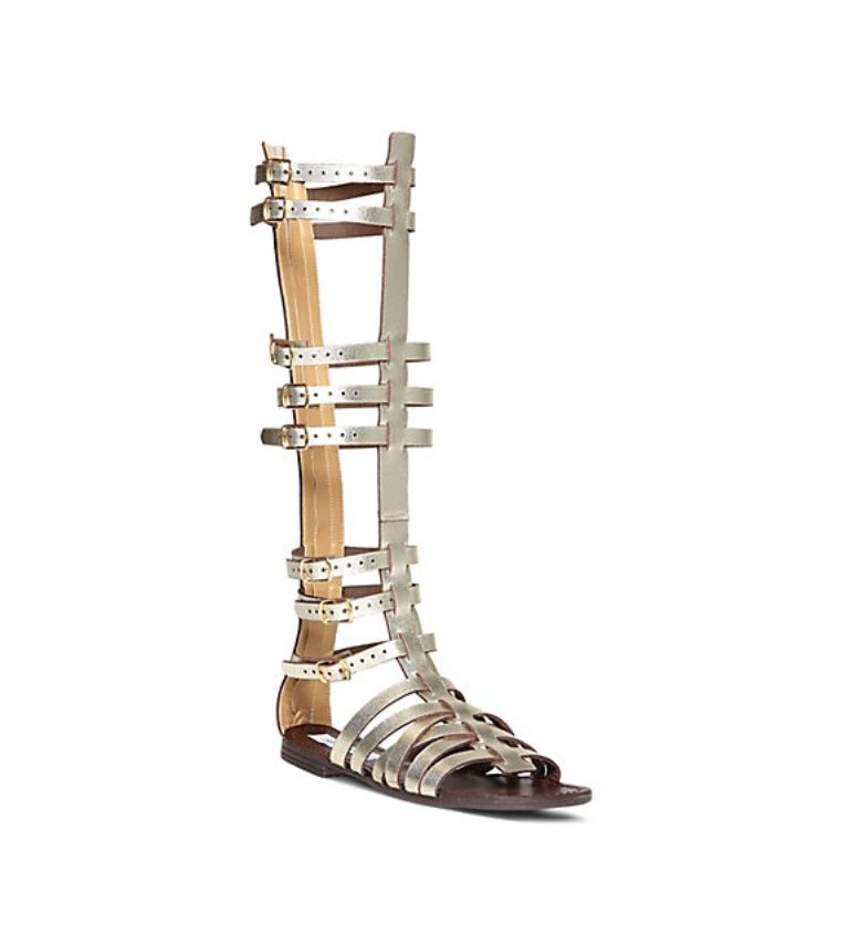 STEVEMADDEN-SANDALS_SPARTA_PLATINUM-LEATHER 20+ Hottest Shoe Trends for Women in Next Spring & Summer