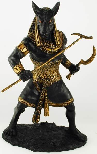 Seth 39 Most Famous Pharaohs Gold Statues