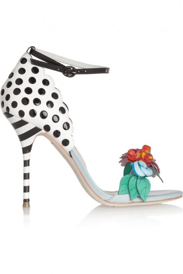 Sophia-Websster-Lilico-flower-embellished-leather-sandals-8 20+ Hottest Shoe Trends for Women in Next Spring & Summer