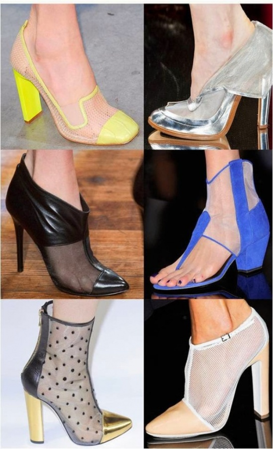 Spring-Shoe-Trend-2-Sheer 20+ Hottest Shoe Trends for Women in Next Spring & Summer