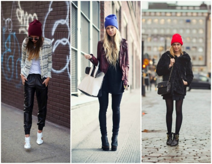 Streetstyle-beanie+outfit-inspiration-beanie+bright-colored-beanie+trend-blogger-beanie Top 15 Hat Trend Forecast for Fall & Winter 2019