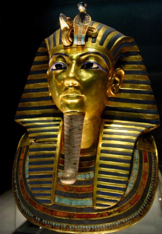 Tuthankhamun_Egyptian_Museum 39 Most Famous Pharaohs Gold Statues