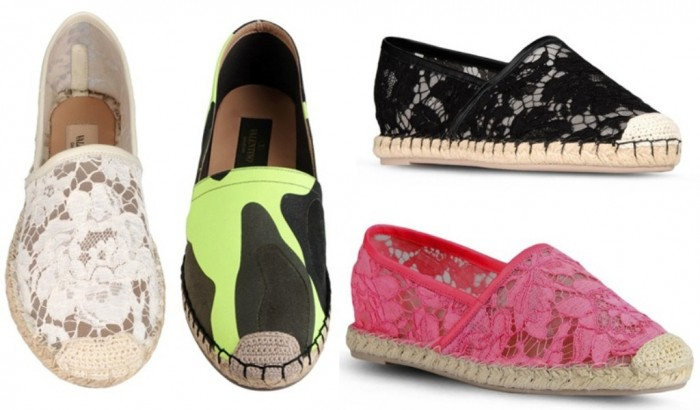 Valentino-Espadrilles 20+ Exclusive Men's Shoes Fashion Trends Coming Back in 2020
