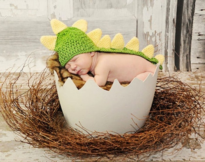 Winter-font-b-Crochet-b-font-font-b-Newborn-b-font-Baby-boys-girls-dinosaur-font 20 Marvelous & Catchy Crochet Hats for Newborn babies