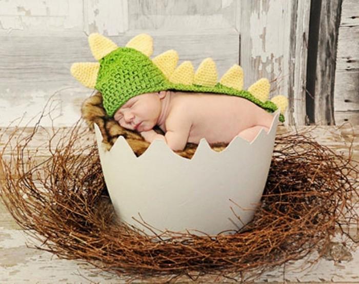 Winter-font-b-Crochet-b-font-font-b-Newborn-b-font-Baby-boys-girls-dinosaur-font 20 Marvelous & Catchy Crochet Hats for Newborn babies