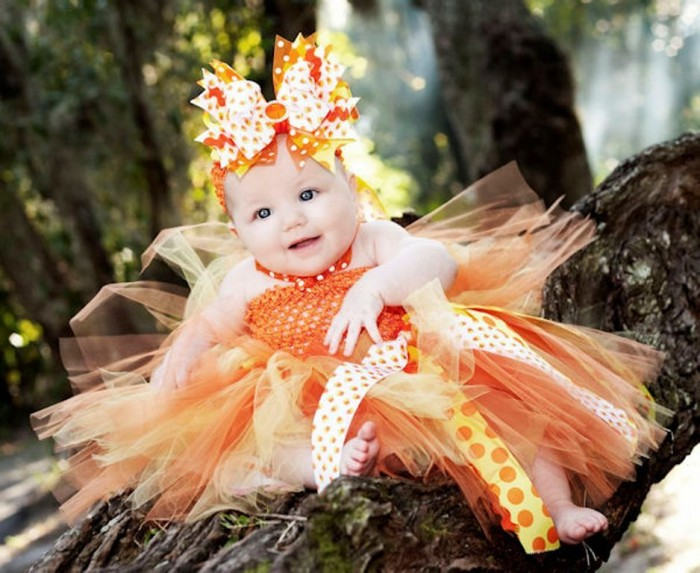a_candycornribbontutudress 25 Magnificent & Dazzling Collection of Crochet Dresses for Baby Girls