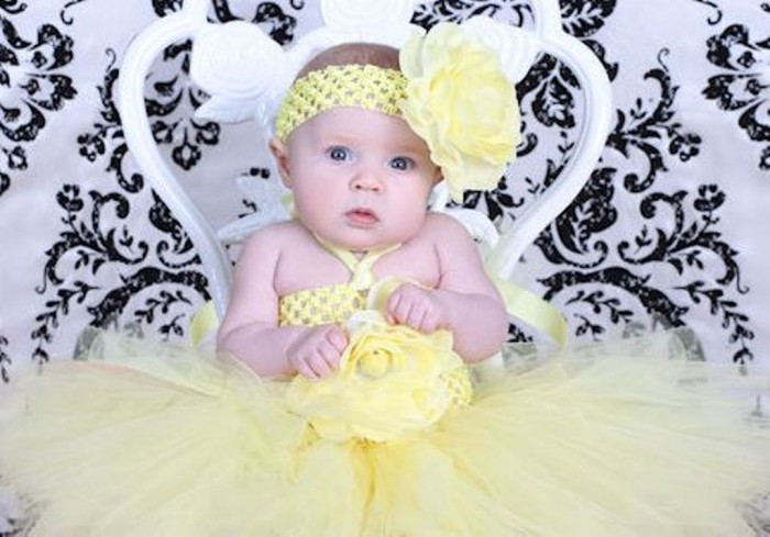 a_yellowbloomingbabycrochettutudresskp2 25 Magnificent & Dazzling Collection of Crochet Dresses for Baby Girls