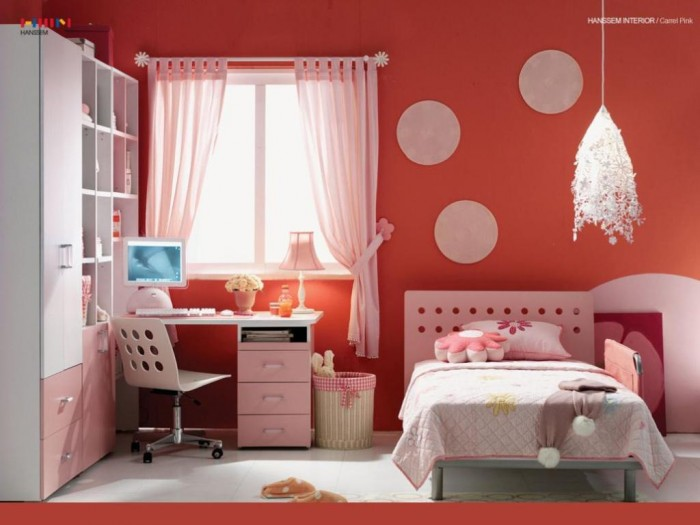 bedroom-ceer-up-cayenne-ikea-bedroom-interior-design-ideas-with-pink-polka-dot-furniture-cest-chic-youthful-ikea-bedroom-design-trend-2014 37+ Latest Home Interior Color Trends