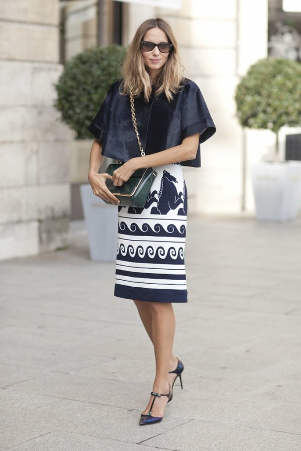bold-pencil-skirt-takes-cake Top 10 Best Fashion Trends Tips