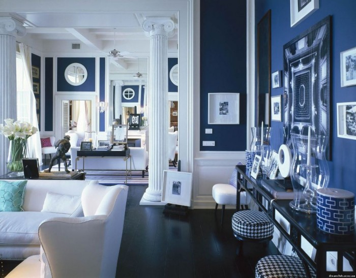 bright-and-navy-blue-beach-furniture1 37+ Latest Home Interior Color Trends
