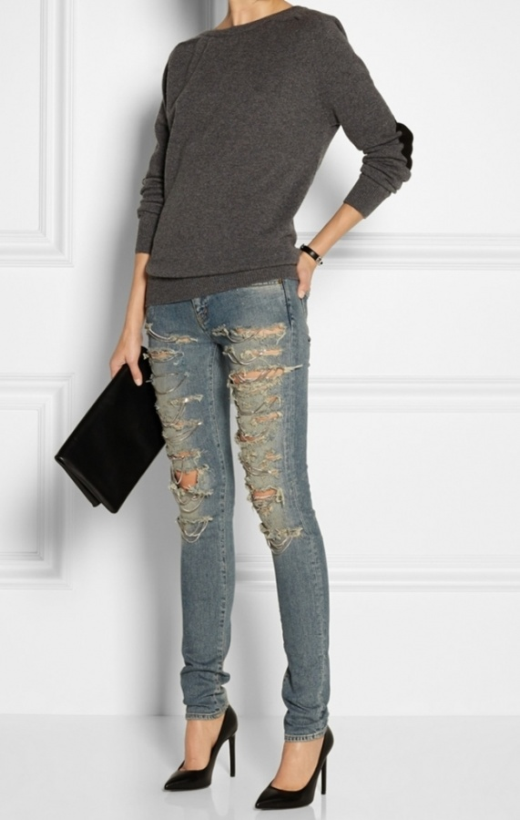 chain_jeans_skinny_women_saint_laurent_online 27+ Latest & Hottest Jeans Fashion Trends Coming