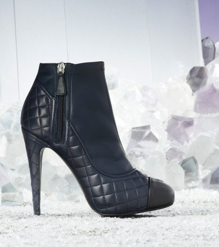 chanel-quilted-lambskin-ankle-boot-pic147946 20+ Best Chosen Boot Trend Forecast for Fall &  Winter 2019