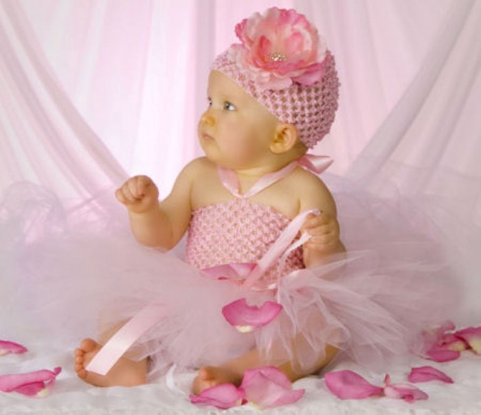 classiccrochettutudress 25 Magnificent & Dazzling Collection of Crochet Dresses for Baby Girls