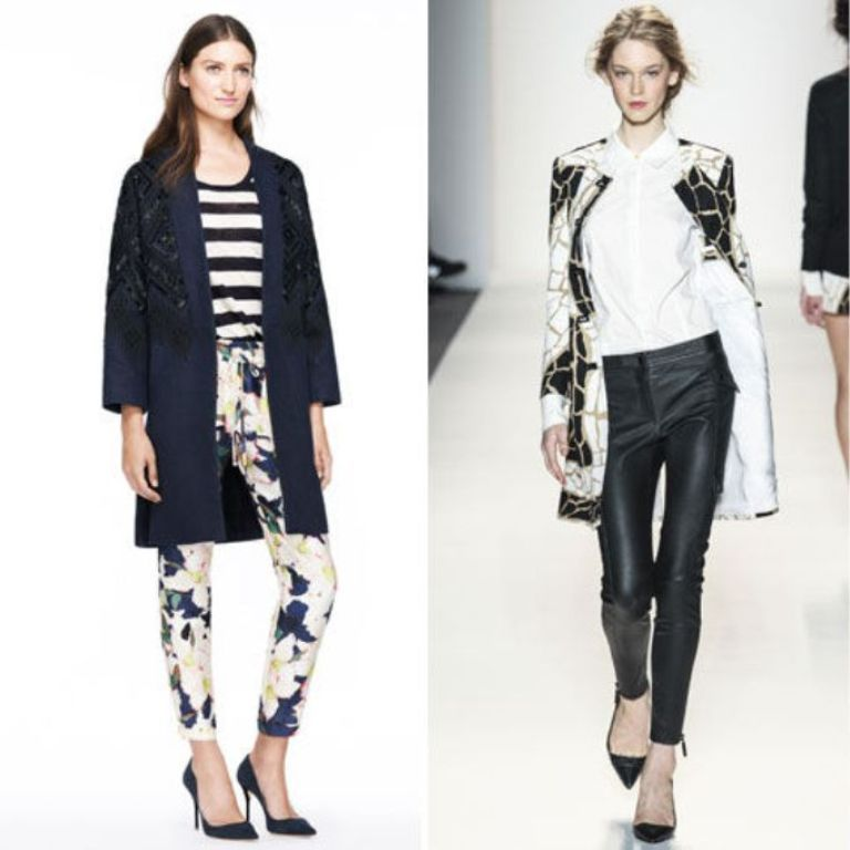 collarless-coat-nyfw-spring-2014-trend-10-w724 Latest & Hottest Fashion Trends for Spring 2020
