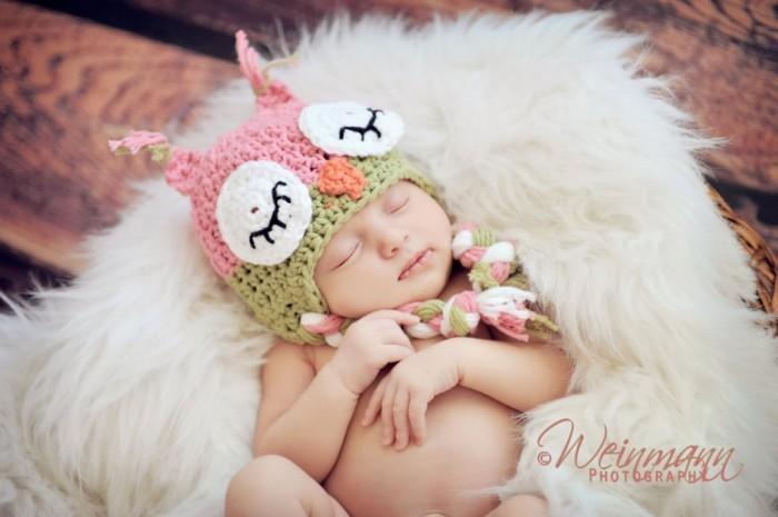 collection-of-newborn-crochet-hat 20 Marvelous & Catchy Crochet Hats for Newborn babies