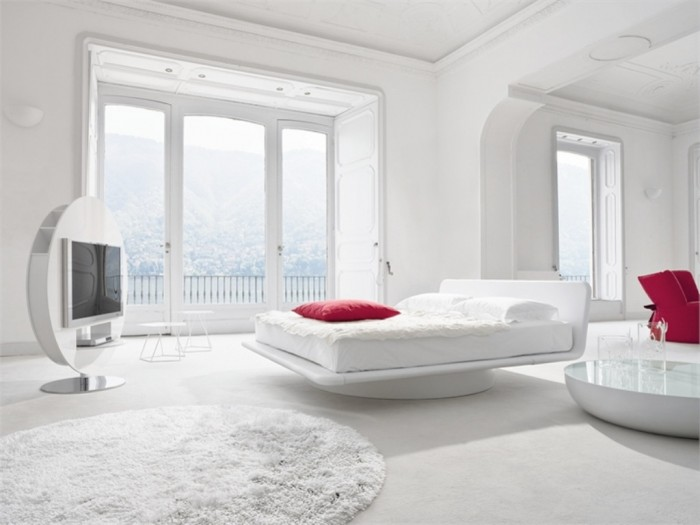 cool-white-room-design-inspiration-11 37+ Latest Home Interior Color Trends
