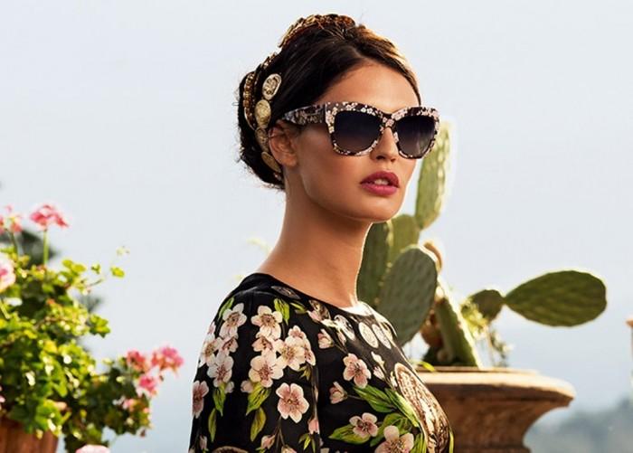 dolce-gabbana-adv-sunglasses-campaign-ss-2014-women-02-slider-slider 20+ Hottest Women's Sunglasses Trending For 2021