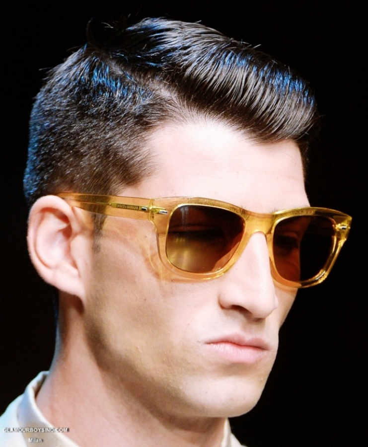 dolcegabbana-eyewear-for-men-spring-summer-2014-collection-milan-fashion-week-glamour-boys-inc-0 +25 Hottest Men's Glasses Trends Coming in 2020