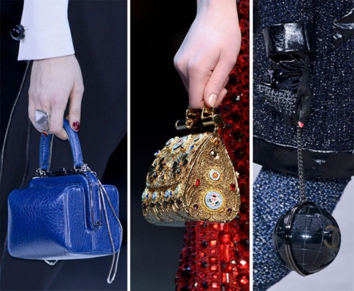 fall_winter_2013_2014_handbag_trends_tiny_bags 20+ Latest Bag Trends Expected to Come Back in 2019