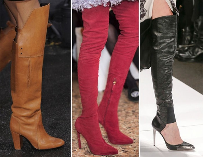 fall_winter_2013_2014_shoe_trends_high_boots Top 10 Hottest Women's Boot Trends for 2019