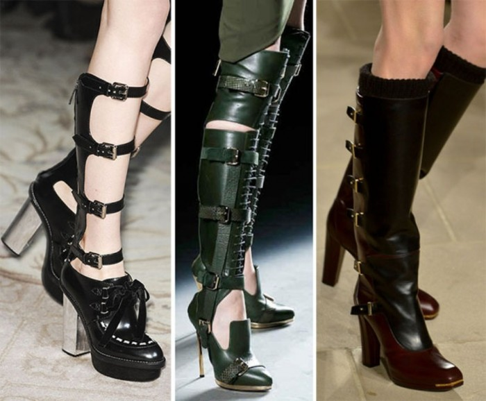 fall_winter_2013_2014_shoe_trends_shoes_with_buckles Top 10 Hottest Women's Boot Trends for 2019