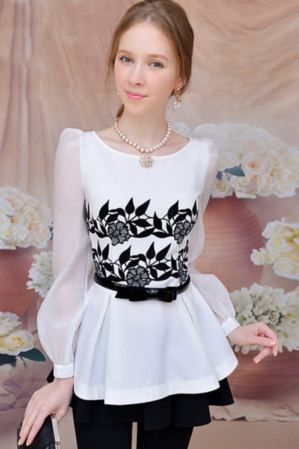floral-print-peplum-waist-shirt Top 10 Worst Fashion Trends & Fads To Avoid in 2020