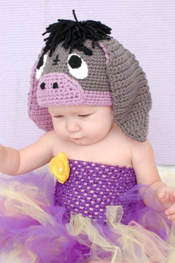 full_3629_2189_CrochetPatternforLittleDonkeyHat_1 25 Magnificent & Dazzling Collection of Crochet Dresses for Baby Girls